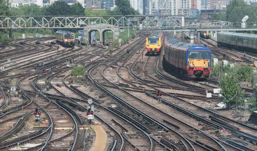The UK rail network has also been hit by the scorching temperatures. (Photo: Getty).