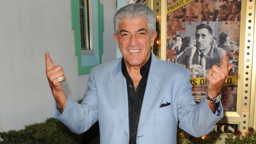 Frank Vincent attends the Genius On Hold premiere at Cinema Paradiso on January 8, 2011. (AAP)