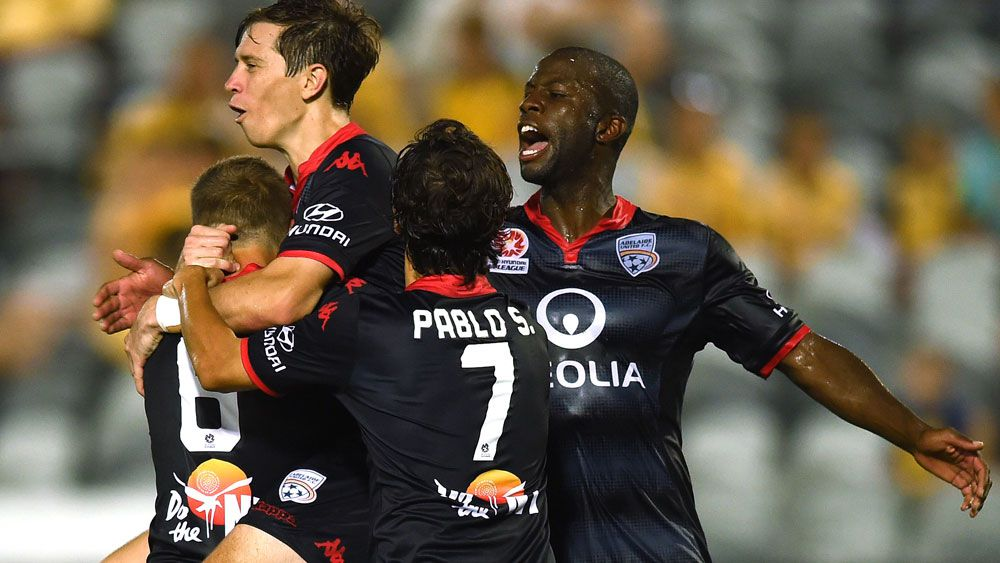 Adelaide United stay on roll with win