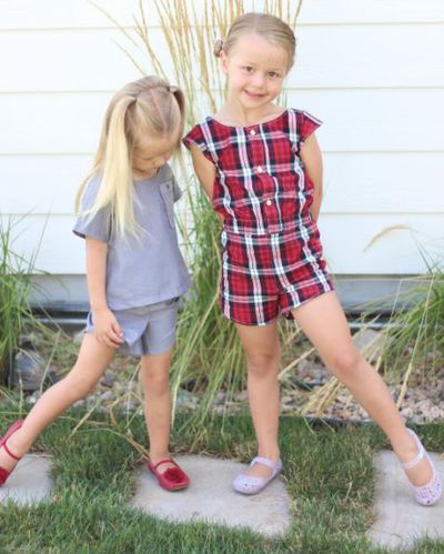 <p>Stephanie Miller is one clever cookie. The mum of four, she has two daughters, ages three and four, and two sons, five and five months, has been whipping up outfits for her little girls using nothing but a sewing machine, creative genius and her husband's cast-off work shirts.</p> <p>Stephanie has been sharing her creations via Instagram and frankly, we just can't get enough. Her daughters can't either. The joy on these little girls faces as they pose in their new and gorgeous outfits says it all.</p> <p>And this truly talented mama is gaining much from her new-found passion as well. She gets to see her partner's shirts gain new life and her sewing has helped her to work through a bout of post-natal depression too. It's what we like to call a win, win, win!</p> <p>Click through to see more of and be inspired by Stephanie's amazing creations.</p>