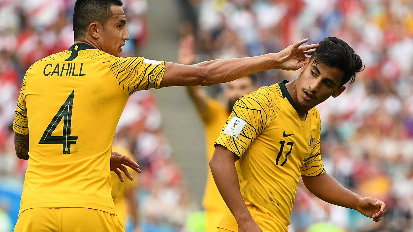 Daniel Arzani's plan to spark next generation Socceroos after World Cup heartbreak
