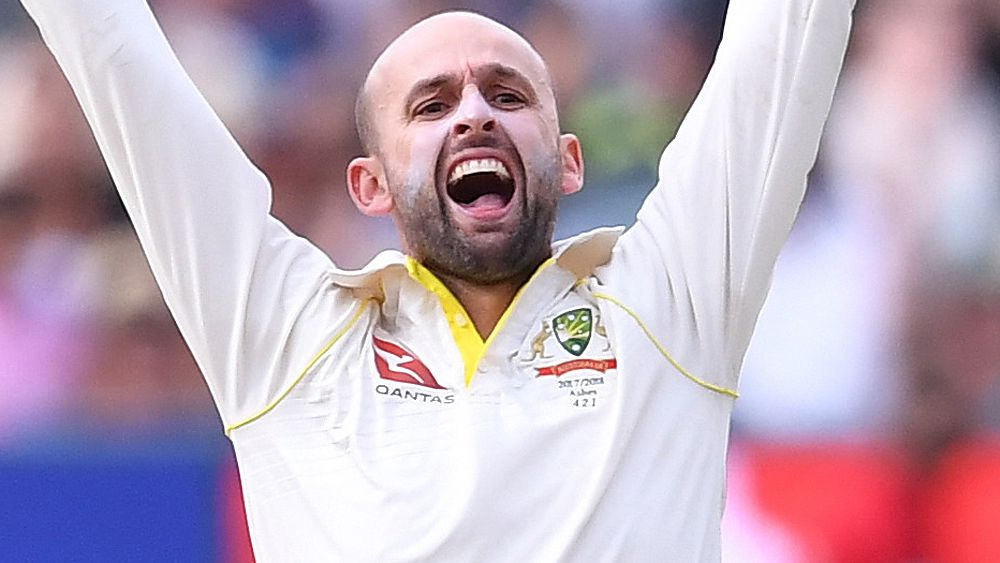 Barmy Army sledge Nathan Lyon during third Ashes Test