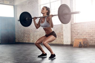 Start deadlifting and squatting