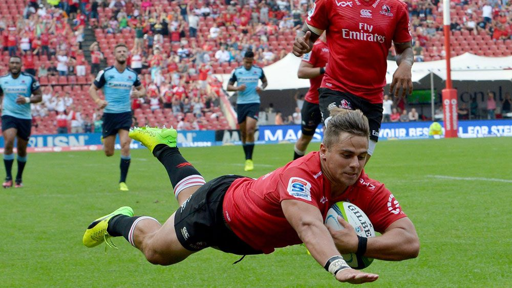 Lions record a high scoring win over the Waratahs. (AAP)