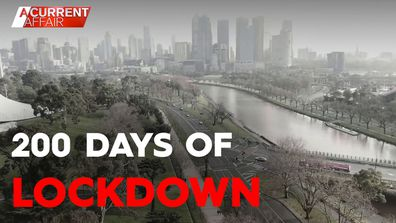 Melbourne becomes one of most locked down places in the world.