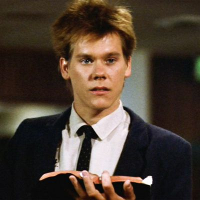 Kevin Bacon, Footloose: 25 years old