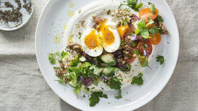 "Recipe: <a href=""http://kitchen.nine.com.au/2017/08/10/15/33/yogurt-and-savoury-granola"" target=""_top"">Yogurt and savoury granola</a>"