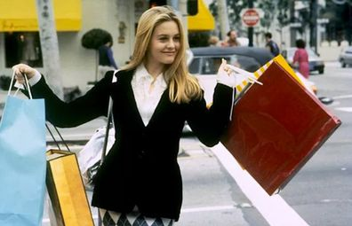 Clueless movie shopping scene