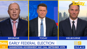 Karl's cheeky question over early Federal Election