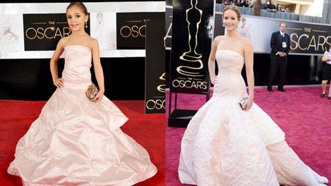 Hey there, Mini-Me: Kids recreate 2013 Oscars red-carpet looks