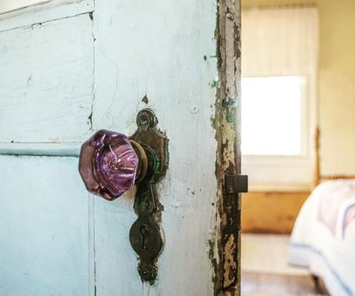 <strong>Change your doorknobs</strong>