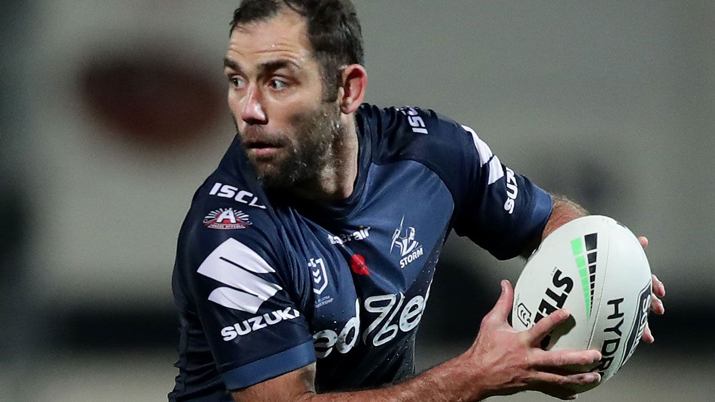Cameron Smith done at Melbourne Storm even if career continues, NRL reporter says