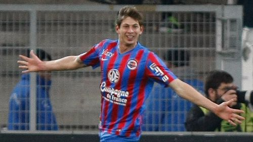 Emiliano Sala, an Argentinian playing in France, had said goodbye to his old teammates before boarding the missing plane.