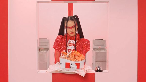 KFC x Crocs collab debuted by beauty icon MLMA