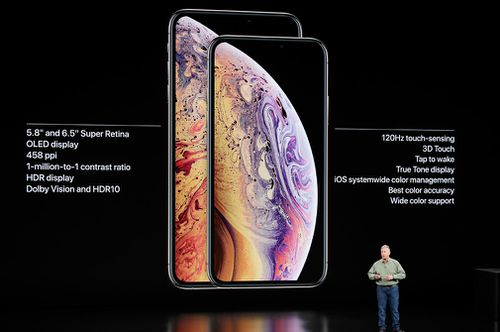 Apple unveiled the iPhone XS and Apple iPhone XS Max.