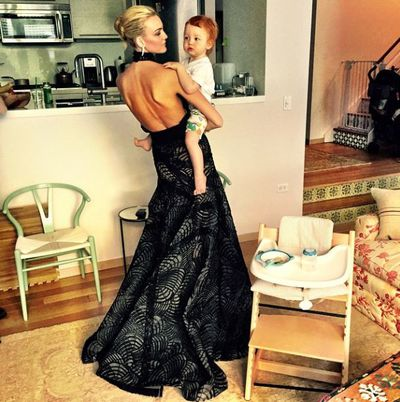 <p>To celebrate Mother's Day we take a look at some of our favourite model and child moments.&nbsp;</p><p>Caroline Trentini and Bento<br></p>