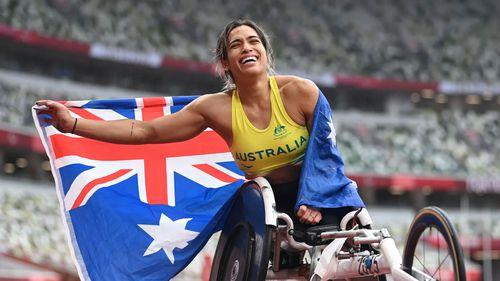 Double gold medalist Madison de Rozario.