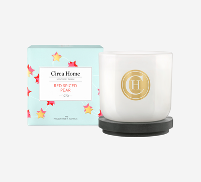 <strong>Scent: Red pear, apple cider, peach nectar and warm spices</strong>