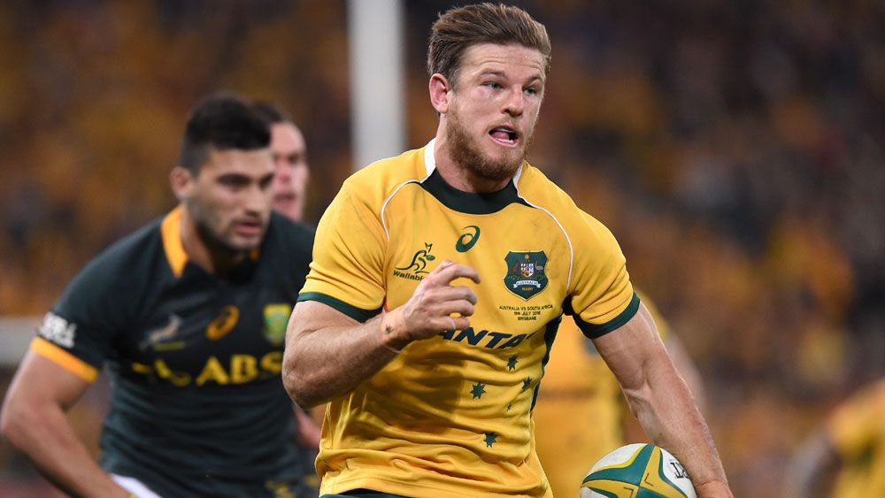 Rob Horne in action for the Wallabies. (AAP)