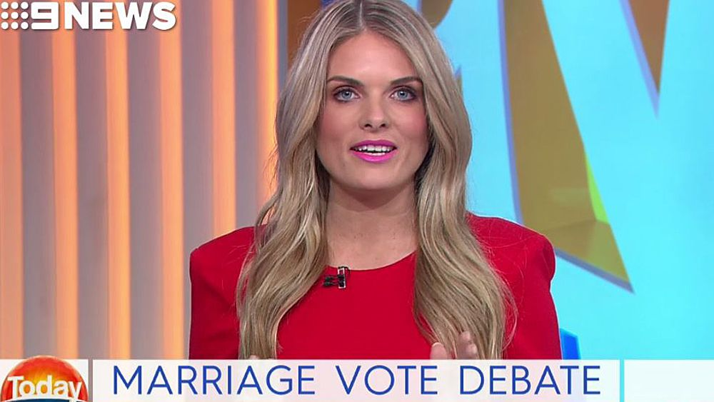 NRL Footy Show host Erin Molan enters same-sex marriage debate after AFL controversy
