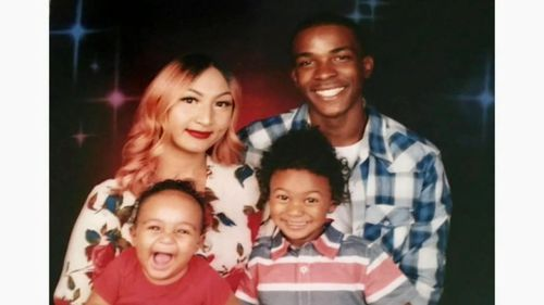 22 year old Stephon Clark was a father of two (SUPPLIED)