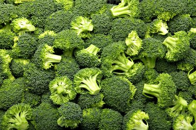 Broccoli: 1.39g sugar per 100g
