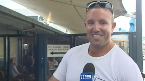 The groomsman at the wheel of the ill-fated buggy, Matty Farmer, chatted to 9NEWS today. (9NEWS)