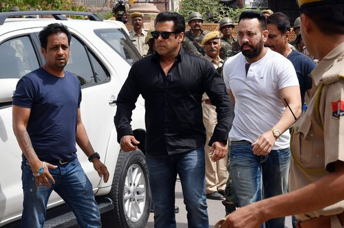 Salman Khan has been sentenced to five years jail for poaching a rare deer two decades ago. (AAP)