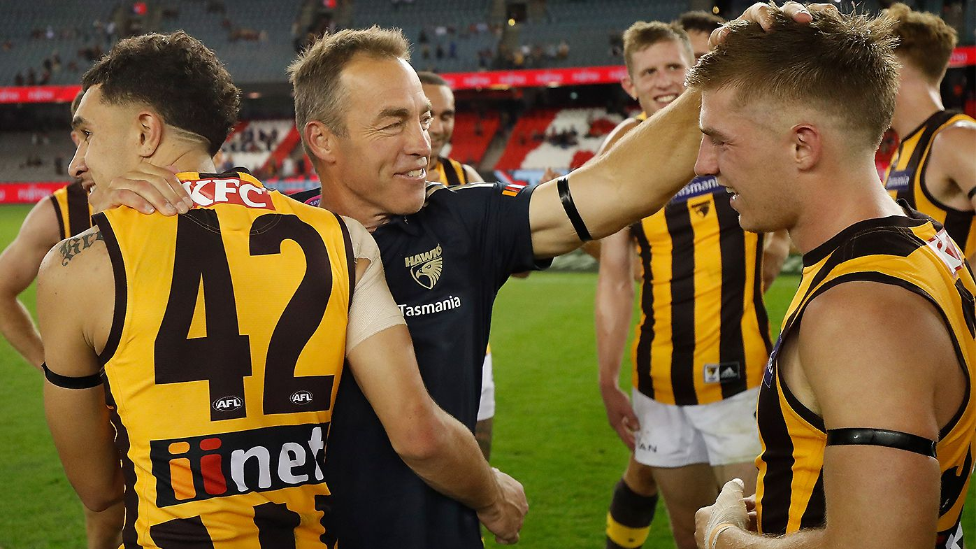 Hawthorn's coaching successor firming as club great explains the mess he's walking into