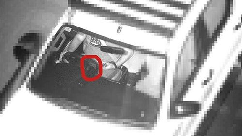 A photo provided to 2GB by Scott Phillips appears to show his phone in his docking station.