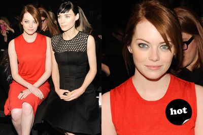 The hottest 'It' girls in town, Emma and Rooney are sleek and chic.