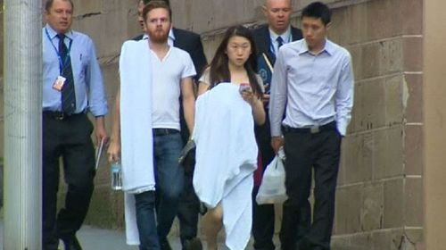 Two escapees from the Lindt cafe were reportedly shaken by the ordeal. (Nine)