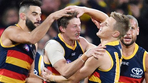 The Adelaide Crows took part in a controversial pre-season camp.
