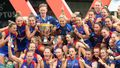 AFLW Grand Final: Western Bulldogs down Brisbane Lions in tight finish