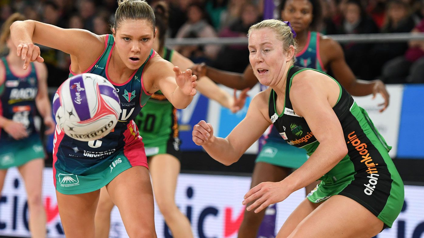 Vixens power past Fever in Super Netball