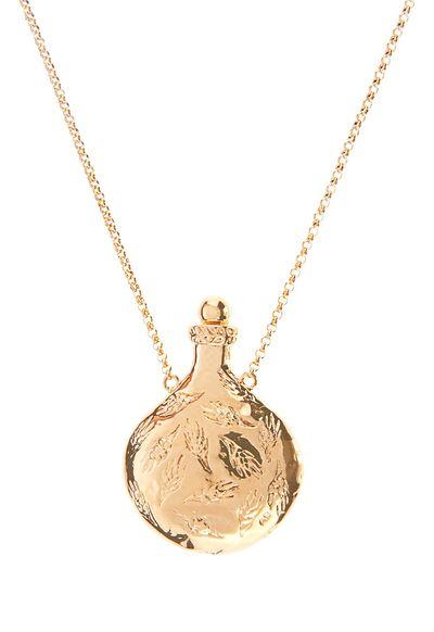 "<a href=""http://www.matchesfashion.com/au/products/Aur%C3%A9lie-Bidermann-Francoise-gold-plated-necklace-1027375#tab-2"" target=""_blank"">Necklace, $976, Aurelie Bidermann at matchesfashion.com</a>"