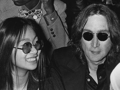 May Pang and John Lennon in 1974