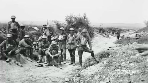 Around 1200 Australians and 180 Americans were either killed or wounded in the Battle of Hamel. Picture: 9NEWS