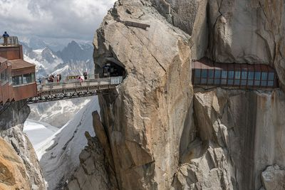 <strong>Aiguille du Midi Bridge, French Alps</strong>