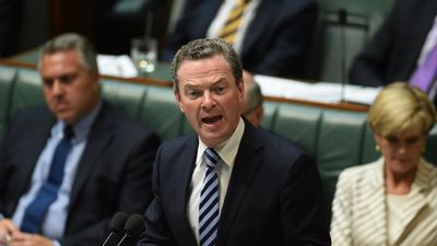"""<p>Christopher Pyne will be Minister for Industry, Innovation and Science.</p><p>He replaces Ian Macfarlane and moves from his own previous role as Minister for Education and Training.</p><p>""""Christopher is going to be at the centre… of one of our most important agendas,"""" Mr Turnbull said. </p><p>""""If we want to remain a prosperous, first-world economy with a generous social welfare safety net we must be more competitive, we must be more productive. Above all, we have to be more innovative.""""</p><p>(AAP)</p>"""