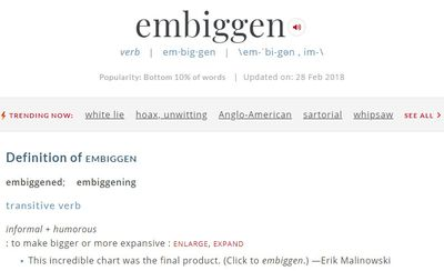 Merriam Webster adds perfectly cromulent word to the dictionary