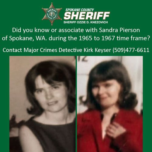 Sandra Pierson was married to the suspect and was pregnant at the time of her death.