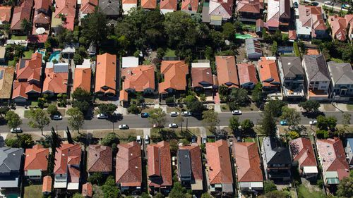 Sydney house prices have risen much more than the median home in Australia.
