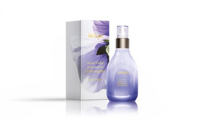 "<a href=""http://www.jurlique.com.au/face/mists-and-essences"" target=""_blank"">Jurlique Sweet Violet and Grapefruit Hydrating Mist Limited Edition, $49.</a>"