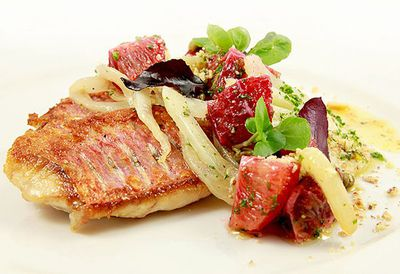 "<a href=""http://kitchen.nine.com.au/2016/05/05/13/30/pan-fried-red-mullet-with-a-fennel-blood-orange-and-caper-butter"" target=""_top"">Pan fried red mullet with a fennel, blood orange and caper butter<br> </a>"