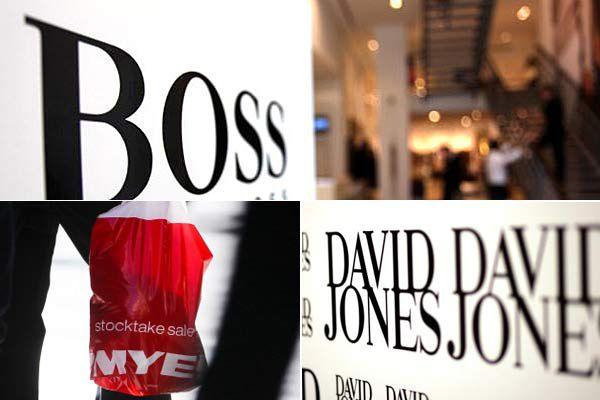 Myer, Hugo Boss, David Jones
