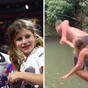 Tom Brady shocks fans after jumping off cliff with six-year-old daughter