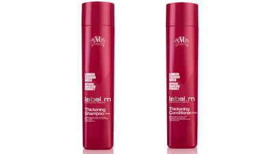 "To add volume:<br><p><a href=""https://labelm.com/au/"" target=""_blank"">Thickening Shampoo and Conditioner, $32.95 each, label.m.</a></p>"