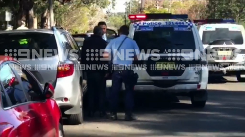 The driver was taken to hospital for mandatory testing. (9NEWS)