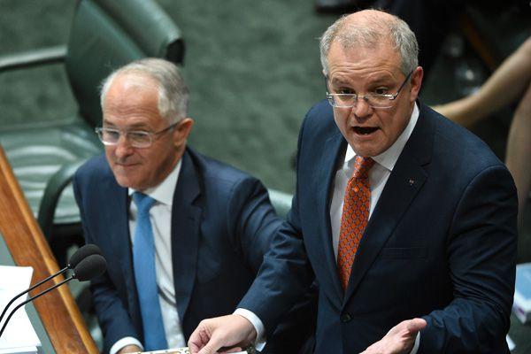 Prime Minister Malcolm Turnbull and Treasurer Scott Morrison. (Source: AAP)
